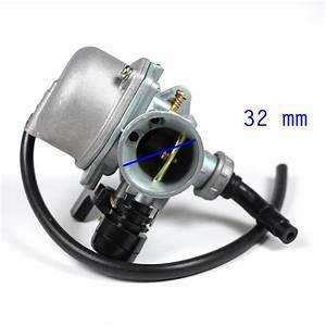 Carburetor - Pz19 - Hand Choke - 50cc-125cc