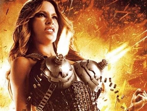 sofia vergaras machine gun breasts dominate machete kills