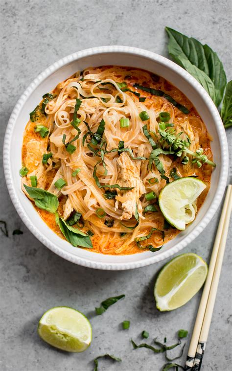 Add the curry powder and cook for 1 minute. 20 Minute Thai Chicken Curry Soup • Salt & Lavender
