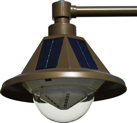 heritage light solar pole light single light