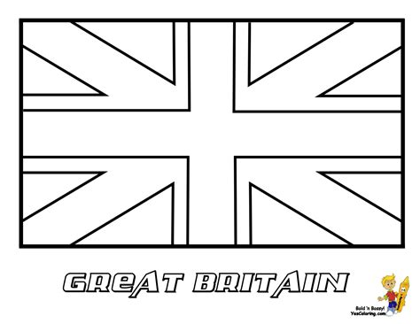 uk flag colors flag clipart country pencil and in color