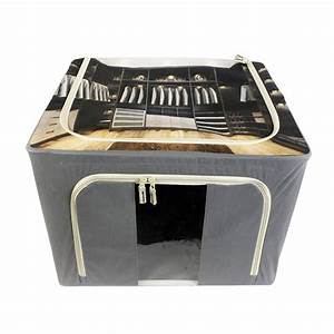 Casier De Rangement : casier de rangement en tissu dressing beige ~ Teatrodelosmanantiales.com Idées de Décoration