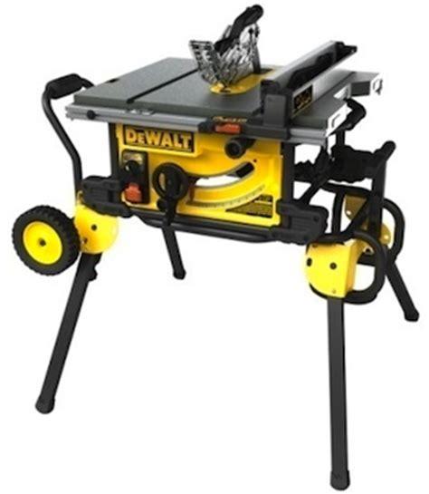dewalt contractor table saw stationary tools dewalt dwe7499gd 10 inch jobsite table