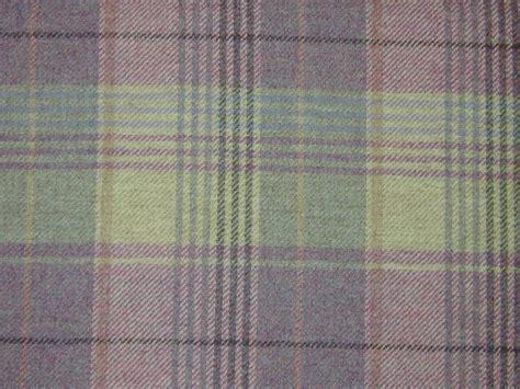 curtain fabric highland wool tartan check plaid