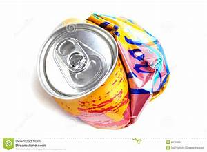 Crushed Soda Can Stock Images - Image: 24703834
