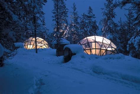 Northern Lights Igloo by Coolest Place To Stay And See The Northern Lights
