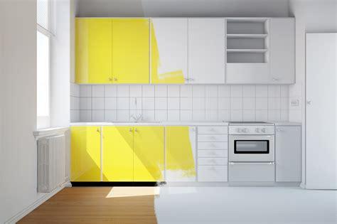 peinture facade cuisine la peinture d un meuble de cuisine