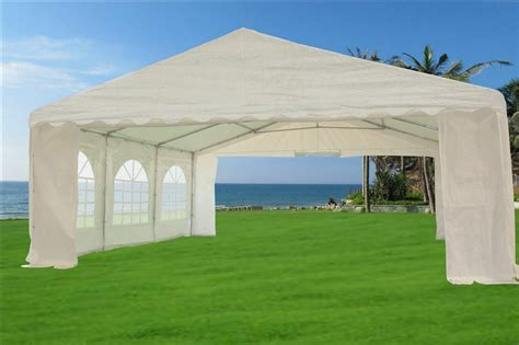 sale  pe party tent heavy duty carport canopy car wedding shelter  ebay