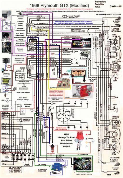69 Plymouth Road Runner Wiring Harnes by 1969 Roadrunner Wiring Diagram Camizu Org