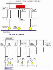 Schema Electrique Va Et Vient 3 Interrupteurs : schema interrupteur va et vient triple ~ Medecine-chirurgie-esthetiques.com Avis de Voitures