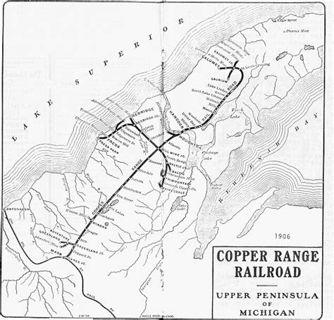 copper range  copper country history