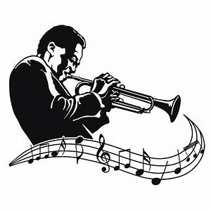 Wall music decals and quality graphics Jazz and Blues