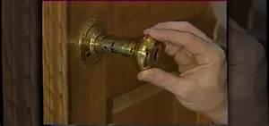How to Fix a broken door knob handle « Construction & Repair