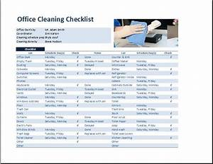 office cleaning schedule interior design With free office cleaning checklist templates