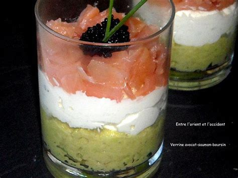 saumon boursin cuisine verrine avocat saumon boursin pictures