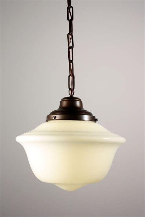 three matching antique schoolhouse pendant lights nc799