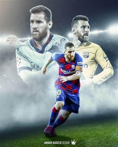 Barcelona Fc Wallpapers Messi Lionel Edit Iphone