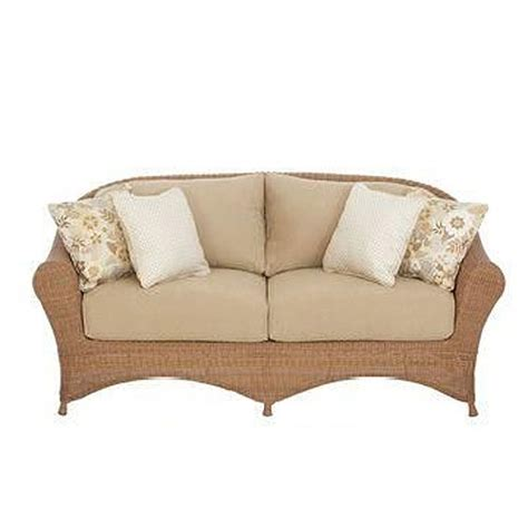 bay loveseat replacement cushion set garden winds