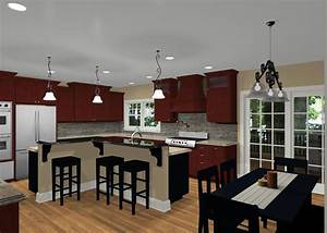 l shaped kitchen island designs with seating square With l shaped kitchen island designs with seating