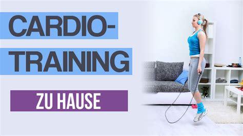 Cardiotraining Zu Hause Uebungenws