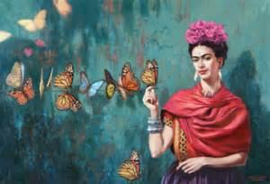 frida earrings frida kahlo a happy spread