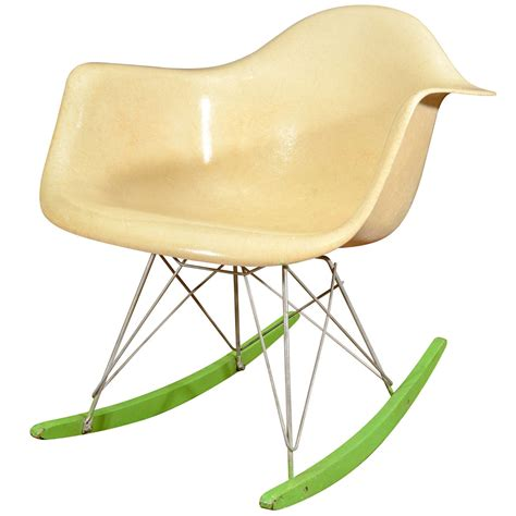 early charles and eames for herman miller rocking chair at 1stdibs