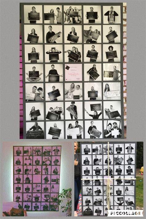 Ideen Für Fotos by Fotocollage Freunde 30 Geburtstag Diy Geburtstag