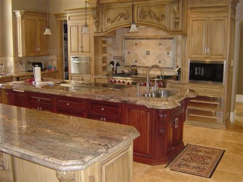 typhoon bordeaux granite with cherry cabinets