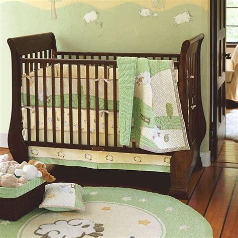 9680 lambs and crib bedding pottery barn chamois bedding nursery ideas