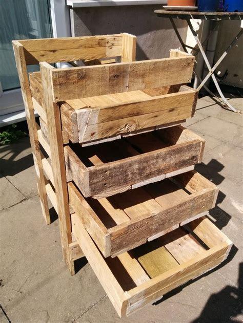 diy wooden pallet storage box plans pallet projects