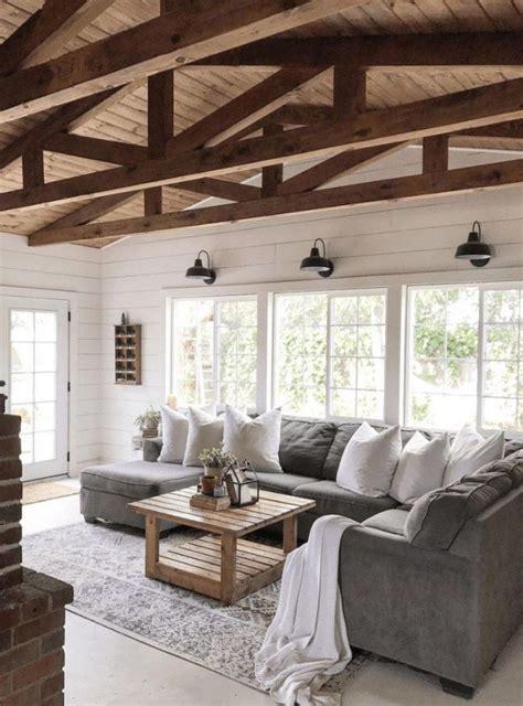 fabulous farmhouse living room decor design ideas  home ideas house styles farmhouse decor