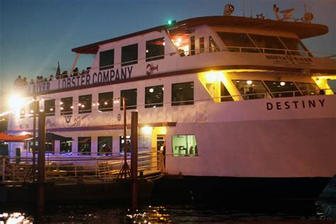 Destiny Boat Cruise Nyc by North River Lobster Company Review Seafood Restaurant On