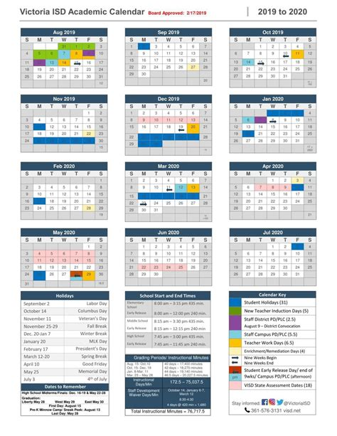 victoria isd academic calendar victoriaadvocatecom