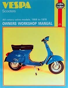 Haynes Service Manual Vespa Vla1 150 1965-66