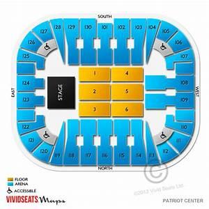 Eaglebank Arena Tickets Eaglebank Arena Seating Chart