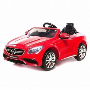 Voiture Electrique Bebe Mercedes : voiture lectrique pour enfant mercedes s63 amg rouge ~ Melissatoandfro.com Idées de Décoration