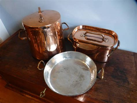 antique  tinned stock pot  stewing pots  sale  stdibs
