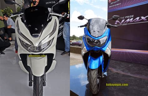 Nmax 2018 Vs by Duel Yamaha Nmax 155 Vs Honda New Pcx 150 Lokal Di Tahun