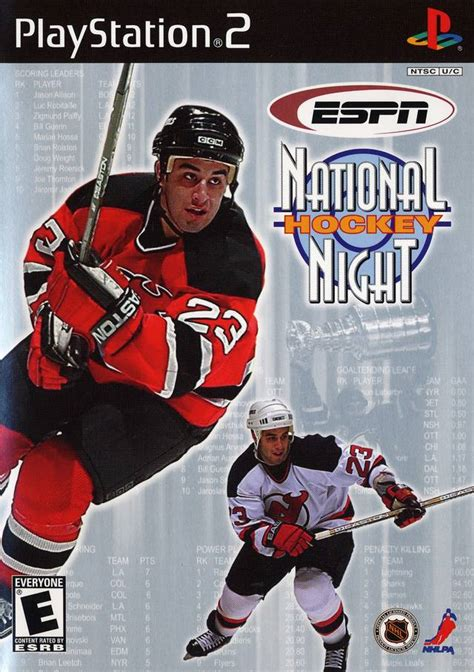 espn national hockey night sony playstation  game