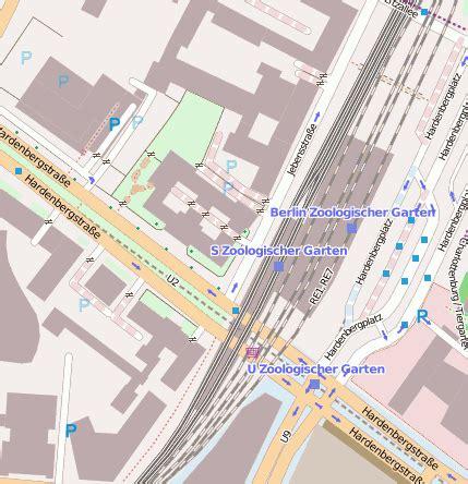 Zoologischer Garten S Bahn berlin zoologischer garten s bahn bahnhofsanlage 10623