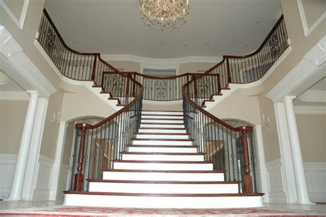 Double Radius Flare   Traditional   Staircase   DC Metro   by Choice Stairways, Inc.
