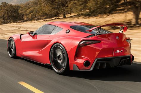 Toyota Ft 1 Concept Rear Three Quarters View 2 Photo 6