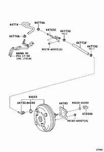2017 Toyota Corolla Power Brake Booster  Htwvm  Mxc