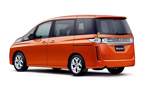 Mazda Biante Picture by Mazda Releases All New Biante Minivan