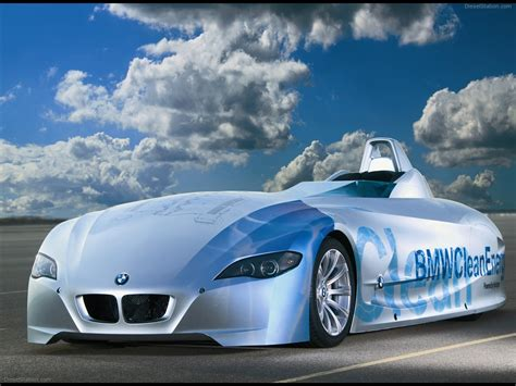 Bmw H2r Hydrogen Racecar Exotic Car Pictures #12 Of 42