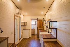 White Modern Farmhouse By Liberation Tiny Homes