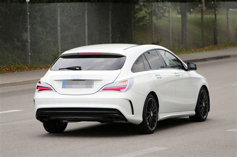 Mercedesbenz Cla Shooting Brake Spied Once Again, Coming