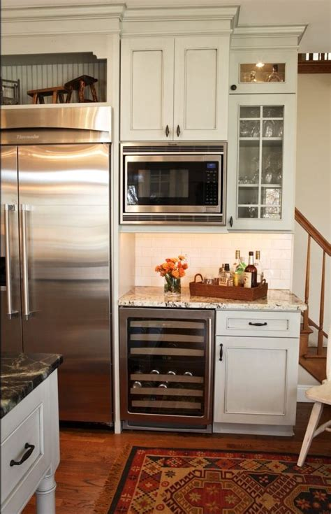 kitchen microwave cabinet best 25 built in microwave ideas on cabinets 2299