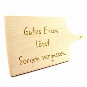 Schneidebrett Holz Mit Gravur : gravur holz schneidebrett 38 cm mit griff 2 cm dick ~ Markanthonyermac.com Haus und Dekorationen