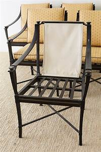 Six Andalusia Royal Lounge Gondola Chairs By Richard